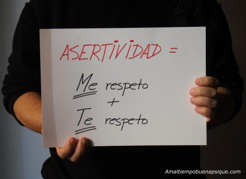 La asertividad es respetar y respetarse